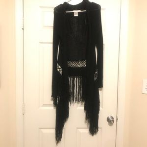 Black lira cardigan